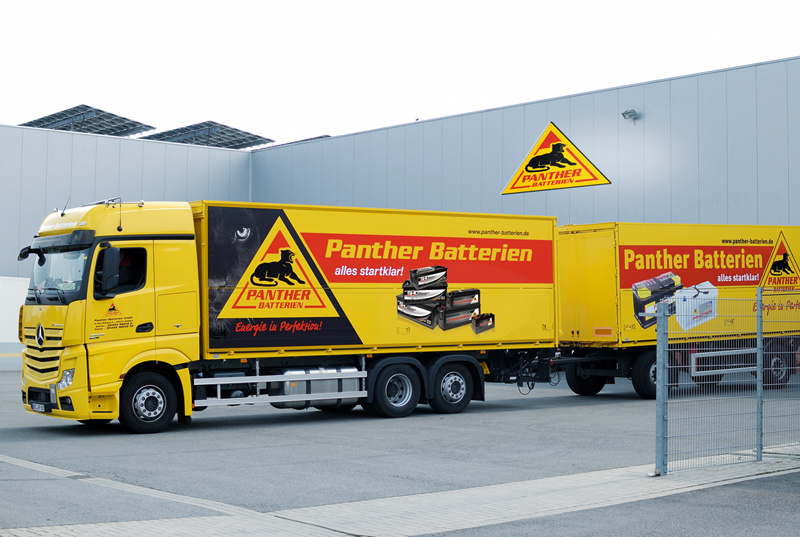 Panther-Batterien LKW Mercedes 2013