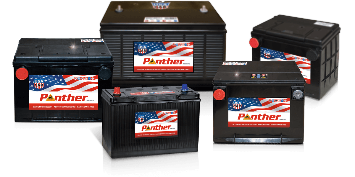 Panther USA-CAR Autobatterien